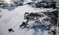 в 70 км от Полярного круга, в арктических условиях