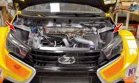 Турбомотор Лады Веста WTCC