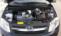 Общий вид двигателя ВАЗ 11186